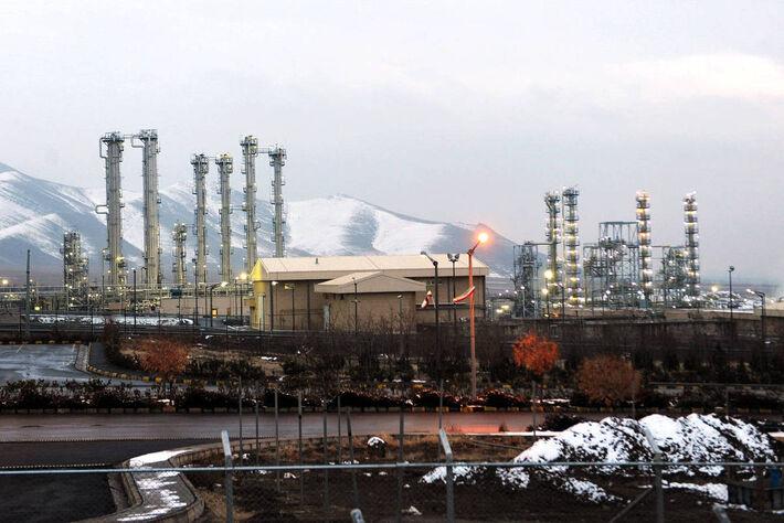 Vista da planta nuclear de Arak, sudoeste do Irã