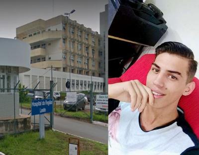 Íthallo Matias, 20 anos, não tinha antecedentes criminais e morreu no Hospital Regional do Paranoá ao ser baleado por um PM após uma discussão