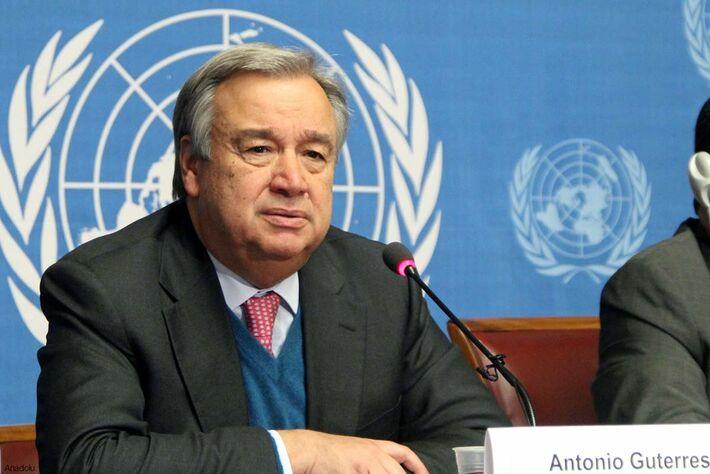 António Guterres, Sec. Geral da ONU