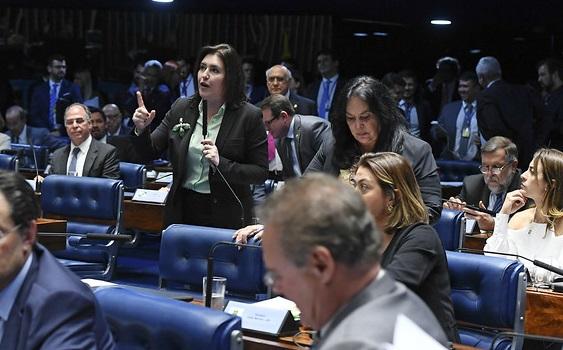 Senadora Simone Tebet (MDB-MS) votou para derrubar decreto de Bolsonaro