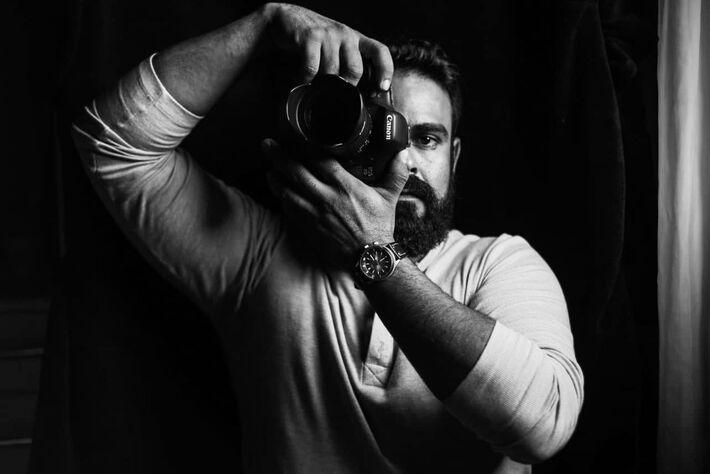 Auto-retrato de Marcos Maluf