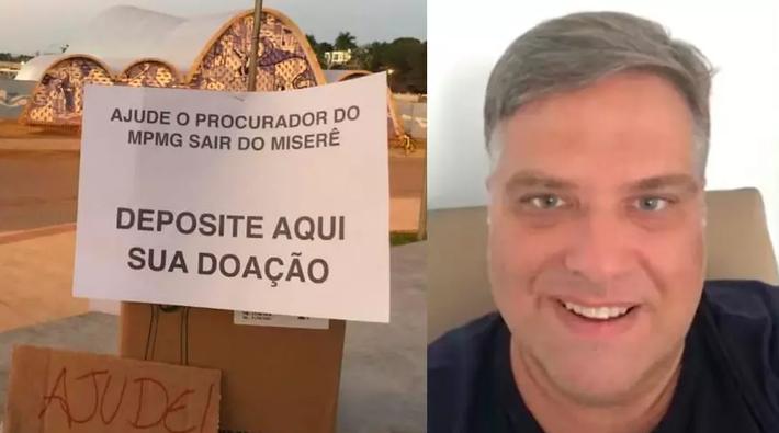 Ato na Pampulha para ajudar o procurador Leonardo Azeredo dos Santos