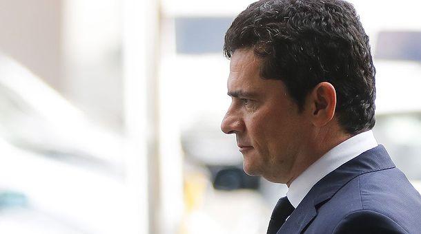 O ministro da Justiça e Segurança Pública Sérgio Moro