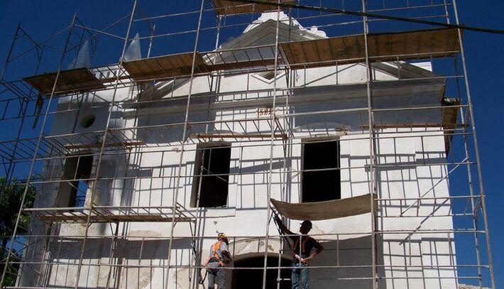 O restauro marca a volta da imagem do Senhor Bom Jesus do Saivá à igreja