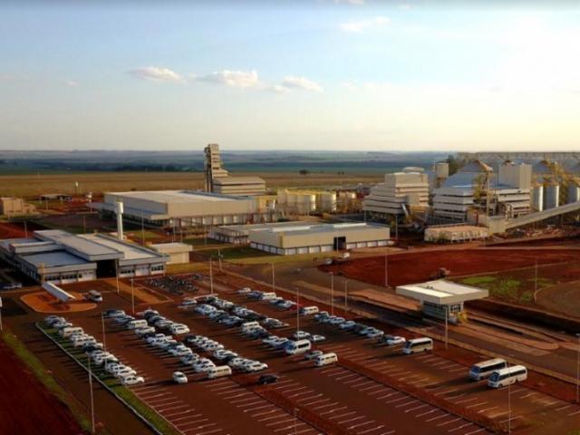 Complexo Industrial da Coamo, em Dourados