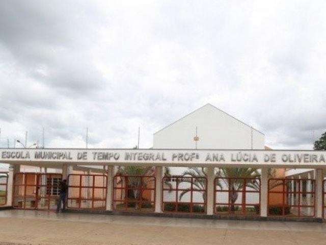 Escola Municipal Profª. Ana Lúcia de Oliveira Batista tem 65 vagas para o ensino integral