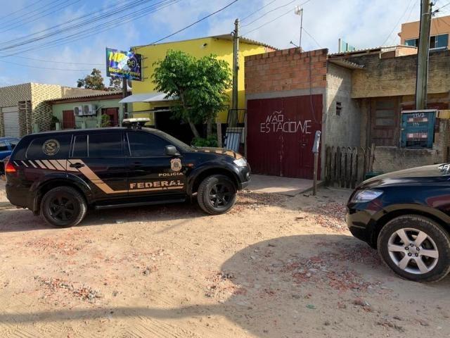Um dos endereços alvos da operação no Rio Grande do Sul