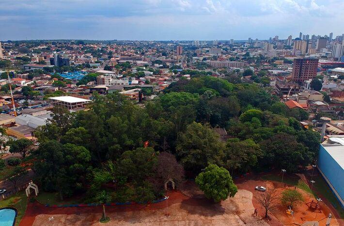 Horto Florestal de Campo Grande é um santuário de árvores