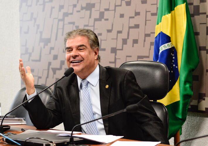 O senador Nelsinho Trad (PSD)