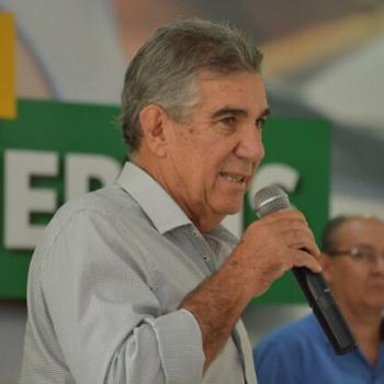 O prefeito Maurílio Azambuja