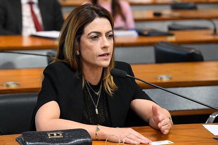 A senadora Soraya Thronicke (PSL-MS) será a presidente da Frente Parlamentar