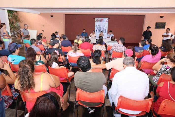 O secretário de Cultura Wesley Queiróz coordenou o processo de sorteio de 69 vagas entre mais de 150 inscritos