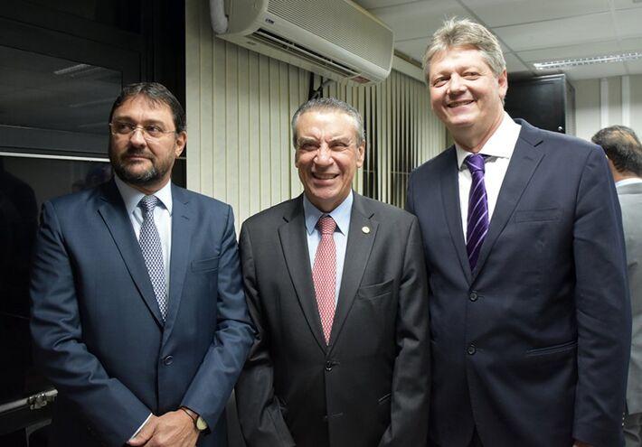 Sérgio Longen, Paulo Corrêa e Jaime Verruck