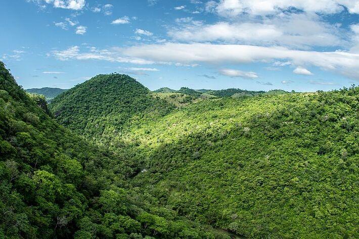 A bem preservada Serra da Bodoquena