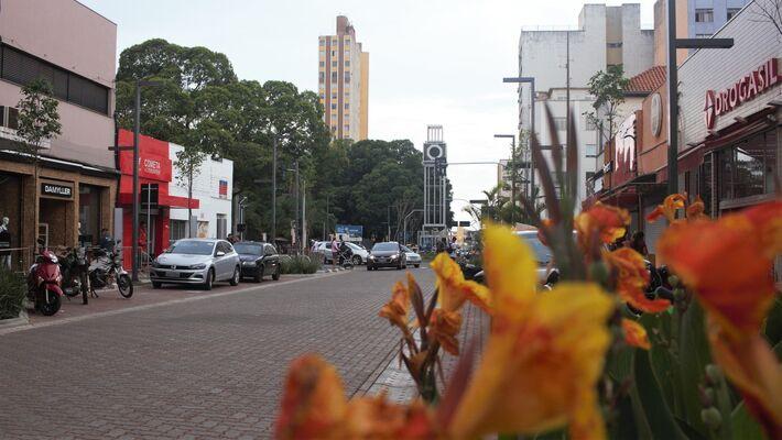 A nova Rua 14 de Julho em Campo Grande