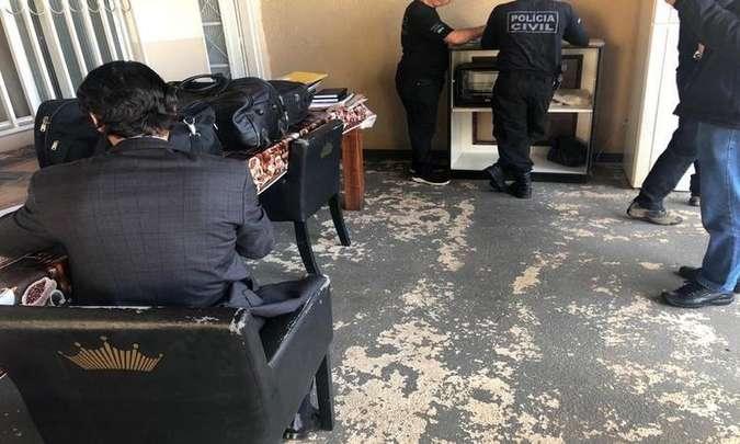 Na primeira etapa da operação, em 20 de setembro, um funcionário do gabinete da deputada Telma Rufino (PROS) foi preso preventivamente. A deputada não é investigada