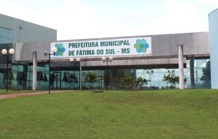 A prefeitura municipal de Fátima do Sul, no interior de MS
