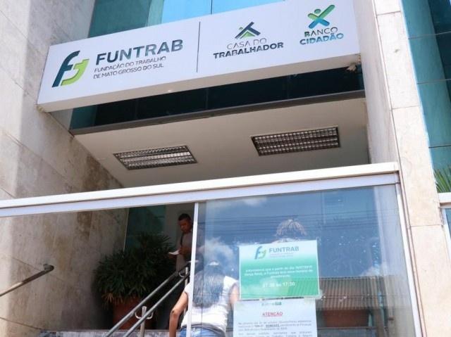 Sede da Funtrab em Campo Grande fica na Rua 13 de Maio