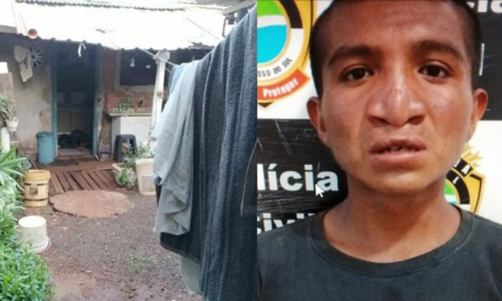Local onde mulher foi assassinada pelo filho por causa de R$ 10