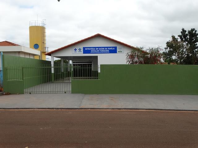 Unidade de Saúde Básica do município de Eldorado, há 447 quilômetros de Campo Grande
