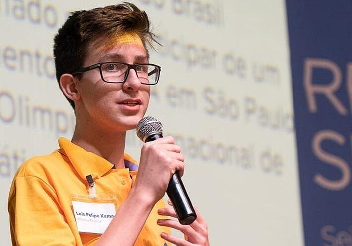 Luiz Felipe foi um dos selecionados pela NASA