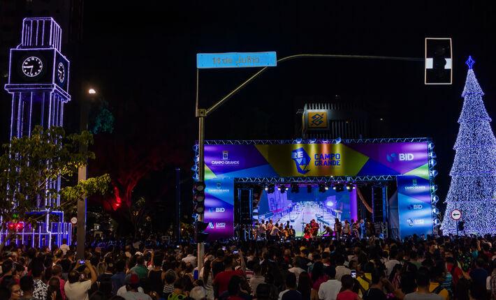 Rua foi inaugurada com grande festa no último dia 29 de novembro