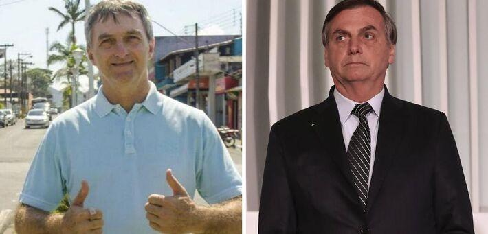 Renato Bolsonaro e Jair Bolsonaro