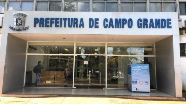 Fachada da prefeitura municipal de Campo Grande