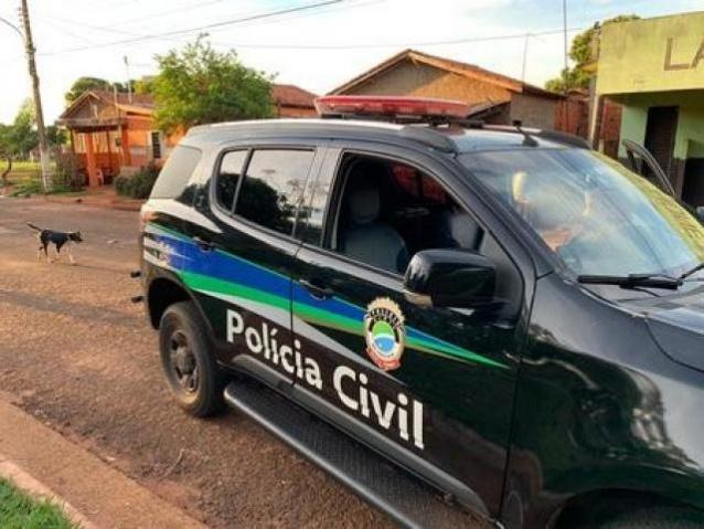 Foi preso pela Polícia Civil da cidade.