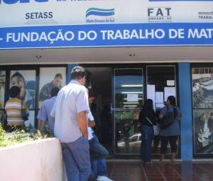 Fachada da Funtrab em Campo Grande - MS | MS Notícias