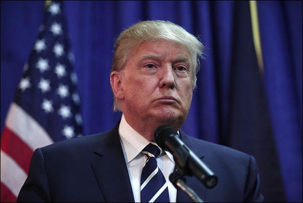 O presidente americano, Donald Trump