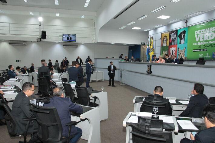 Os vereadores da Câmara Municipal de Campo Grande aprovaram, na sessão ordinária de 17 de dezembro de 2019