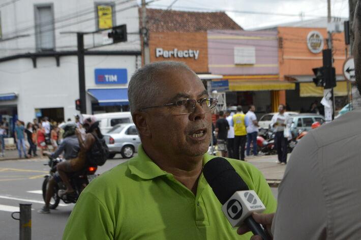 José Lucas da Silva, pres. Feintramag MS