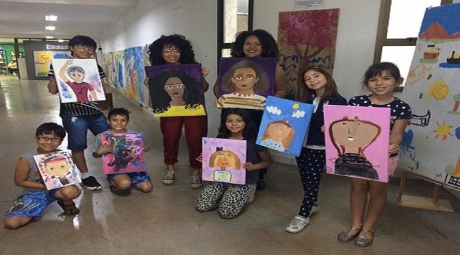 Crianças que participaram em uma das edições