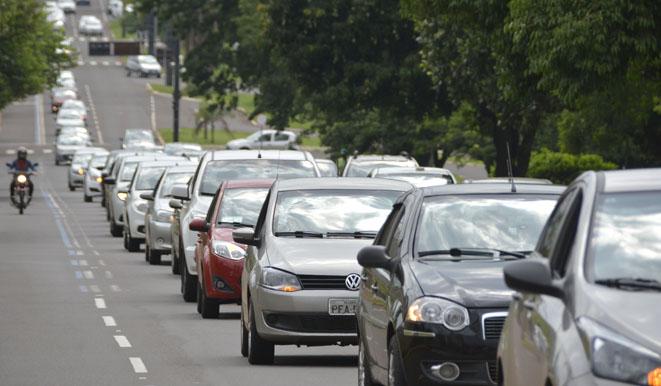 Motoristas de aplicativo fizeram protesto contra regulamentação, mas não impediram aprovação de lei pela Câmara