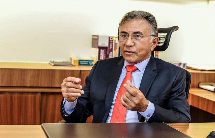O juiz Odilon de Oliveira