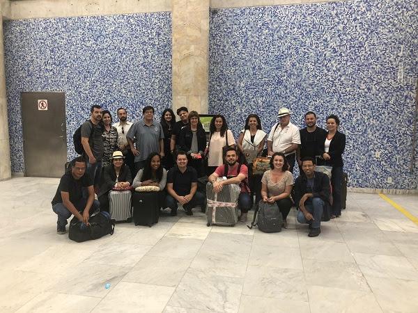 Caravana de produtores audiovisuais de MS que foram na conferência Rio2C