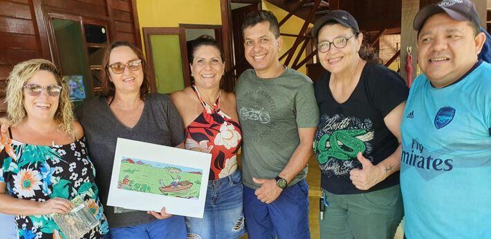 Presidente  da Câmara  de Bonito  é voluntários do movimento #PAIXÃOPORBONITO
