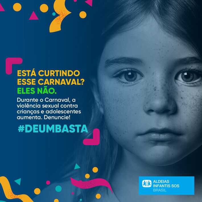 Banner da Campanha #DeUmBasta