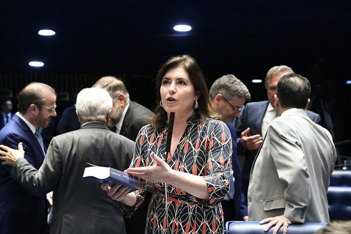 A senadora Simone Tebet (MDB)