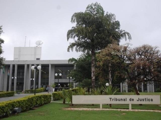Fachada do Tribunal de Justiça em Campo Grande - MS