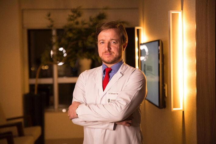 Baltazar Sanabria é diretor-clínico da Clínica Sanabria em Campo Grande