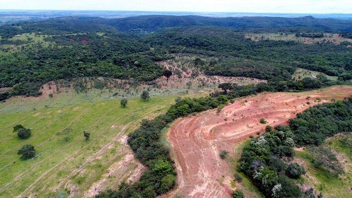 Com uso de drone foi realizada toda a caracterização da área para emissão de relatório que irá subsidiar o processo administrativo relativo à multa ambiental