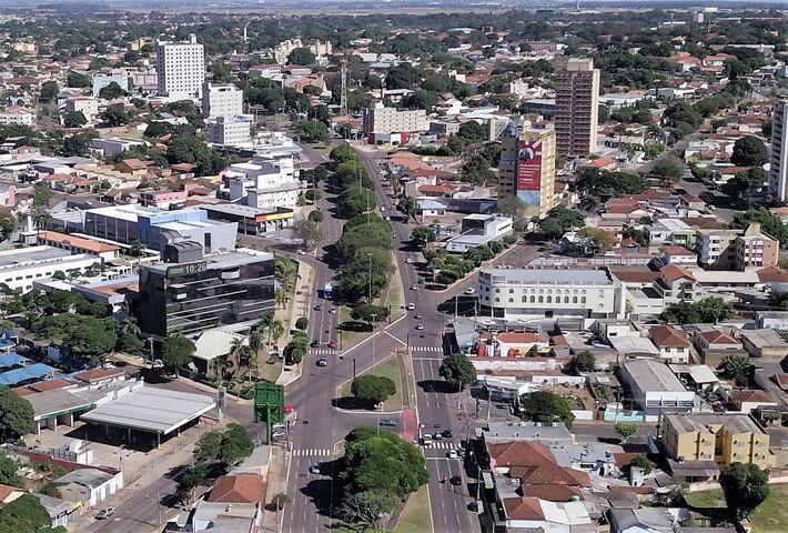 Vista aérea de Campo Grande - MS | MS Notícias