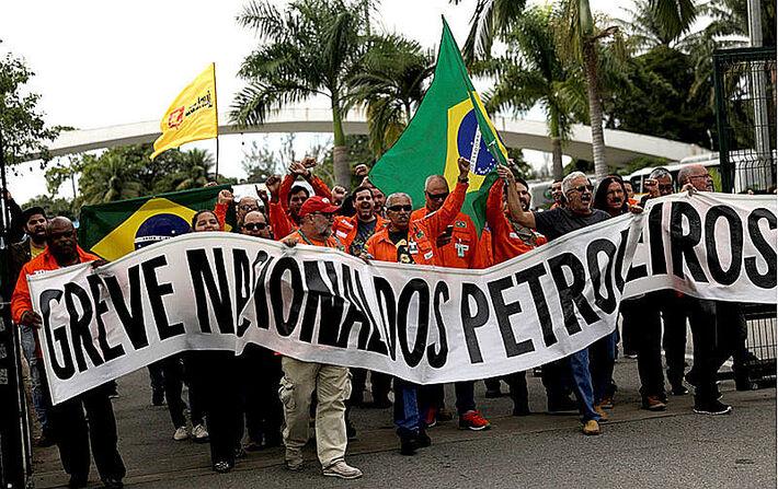 Greve dos Petroleiros chega ao 16º dia