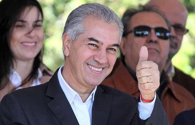 O governador de MS, Reinaldo Azambuja