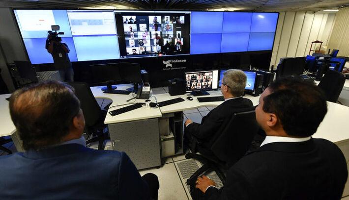 Sistema de votação remota do Senado Federal foi usado pela primeira durante a análise do decreto de calamidade pública