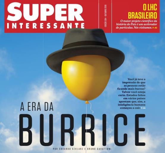 Capa a edição da Revista Super Interessante