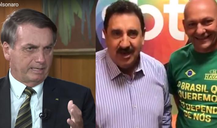 Bolsonaro, Ratinho e Hang