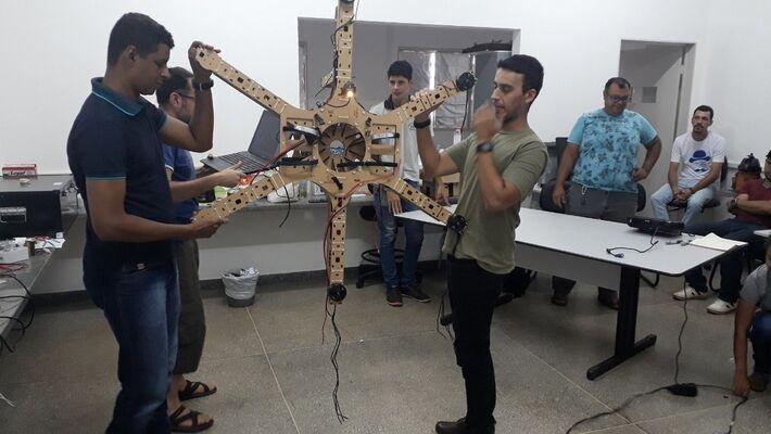 Construção do drone